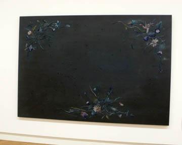 zwarte bloemenzooi