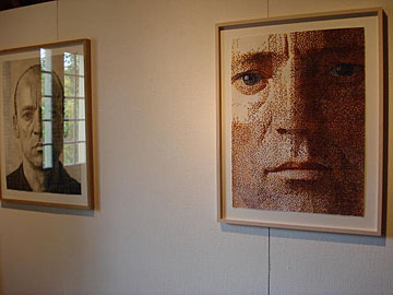 Wim Konings, Studie voor een zelfportret III, Studie voor een zelfportret VI