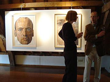 Wim Konings en Studie voor een zelfportret
