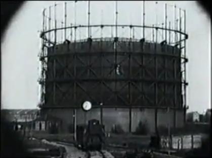 De Rotterdamse Gasfabriek in 1927