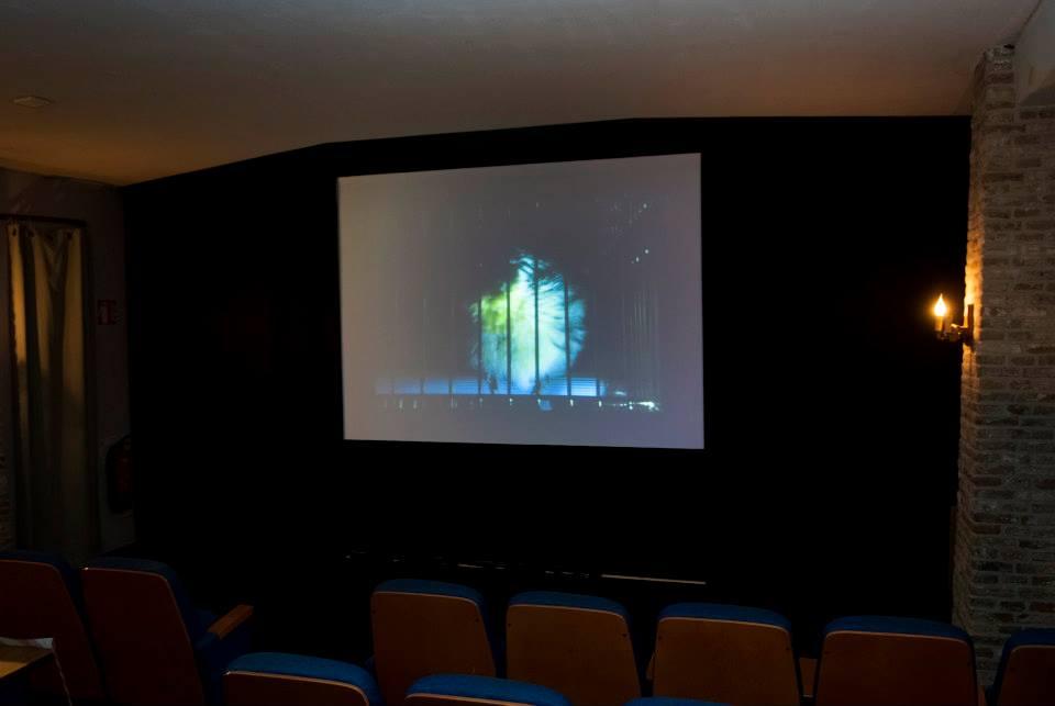 En in de benedenzaal veel verschillende videos van oa The Arbour Lake Sghool - Peter Vandrie door Avi Krispin - en deze van de Griekse Thalia Raftopoulou