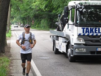 Jeroen Jongeleen, Running from Rotterdam to Brussels