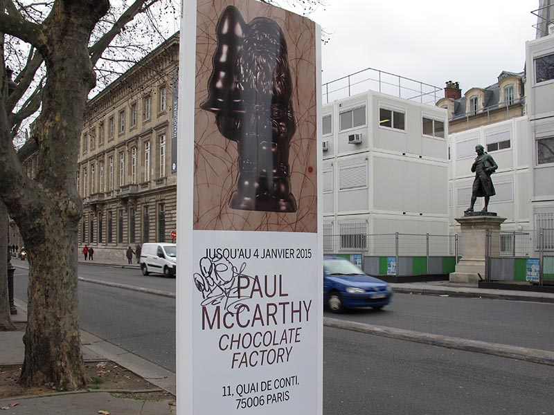 Paul McCarthy en z'n chocoladefabriek