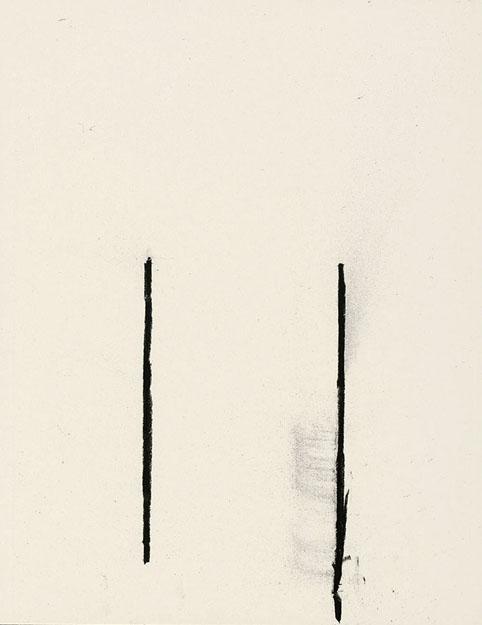 430 - Arjan Janssen - Zonder titel - 2015 - juni 2015 (2) - 30 x 23 cm - Siberisch krijt op papier