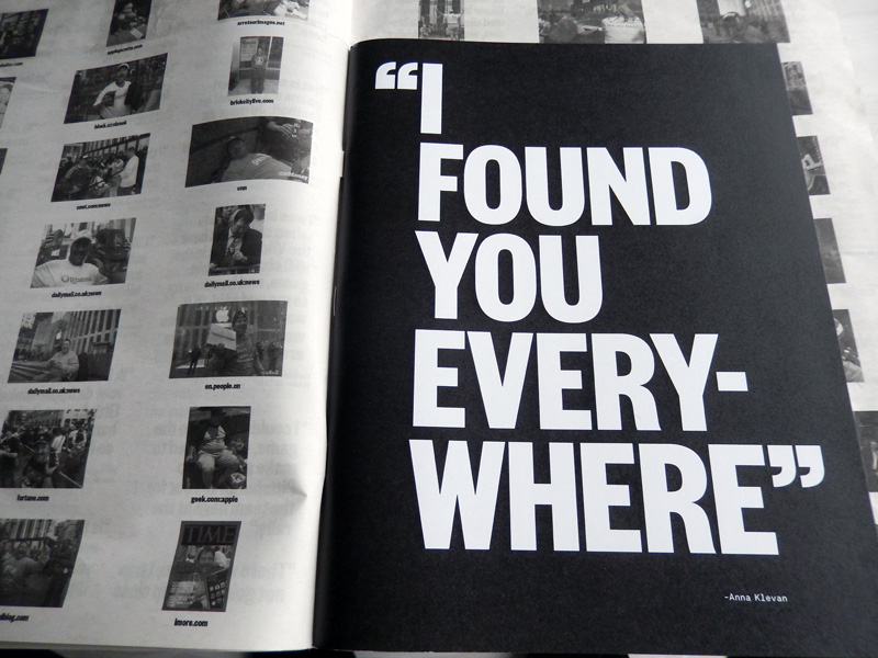 You can find me everywhere/ I found you everywhere