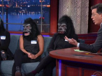 Guerrilla Girls @ Stephen Colbert