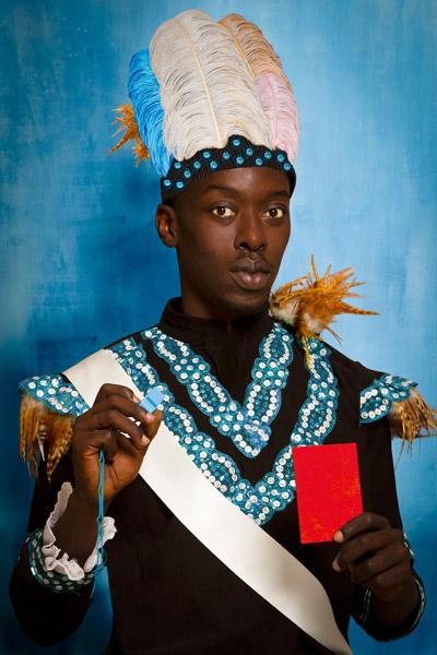 Omar Victor Diop 'Albert Badin' Diaspora Series 2014