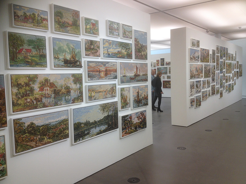 Rob Scholte's 'Embroidery Show'_Zaal