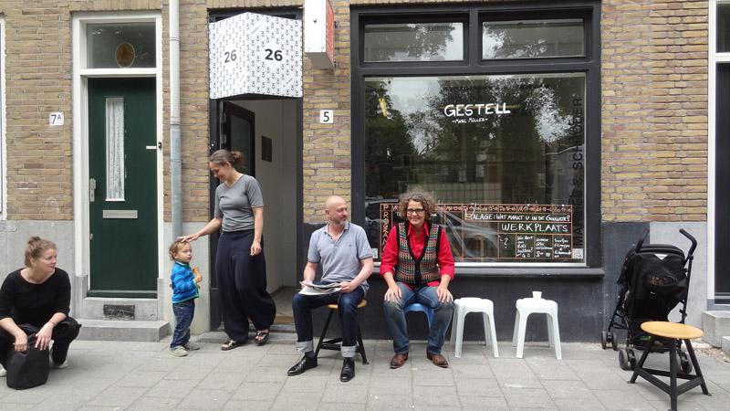 8 Marc Muller is uitgenodigd door Marlies Schorder en Anne Karin ten Bosch om zijn werk tijdens CH te presenteren DSC00923