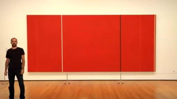 How to schilder als Barnett Newman