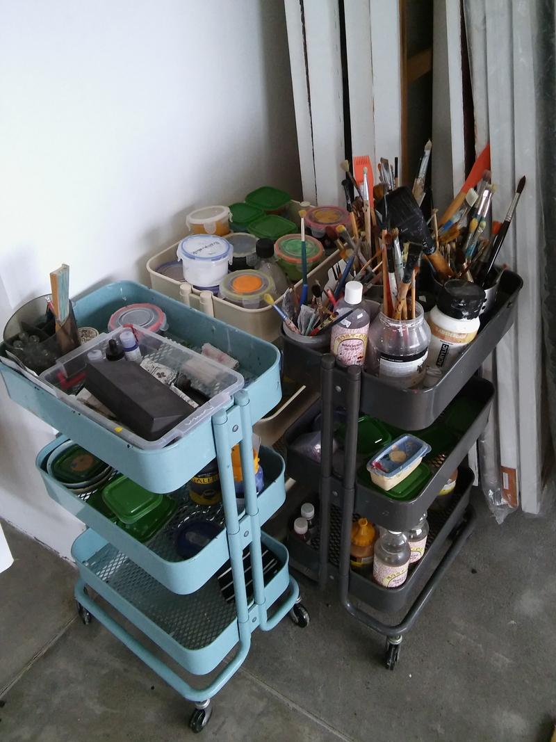 In het atelier van Jorge Pineda