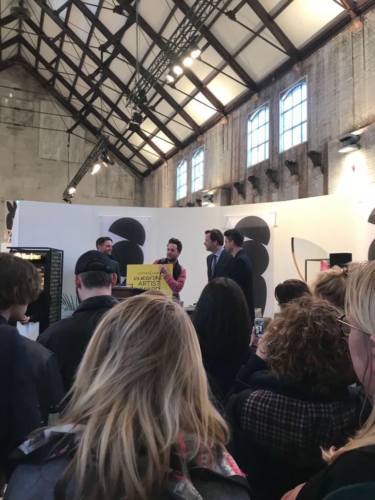 Loyens Loeff Emerging Artist Award 2018, Thomas Trum