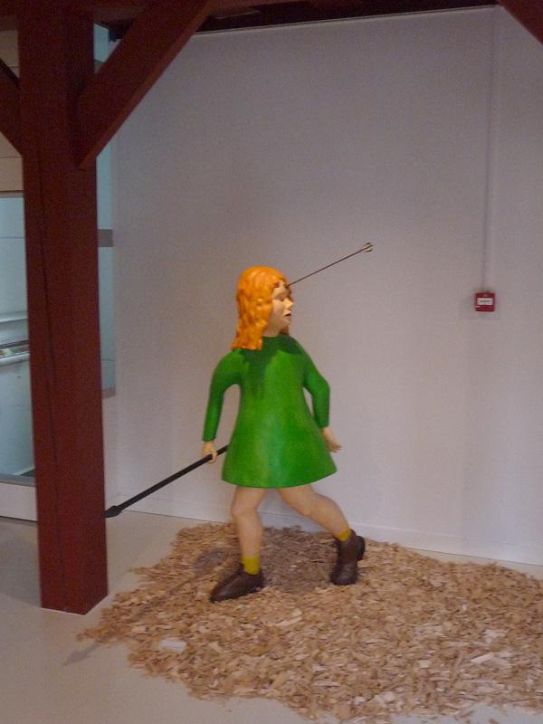 Paul de Reus in het Stadsmuseum Harderwijk