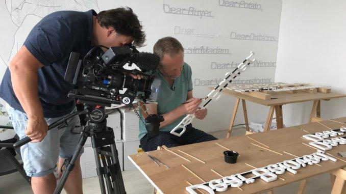 Niels Post in het LAM, de making of