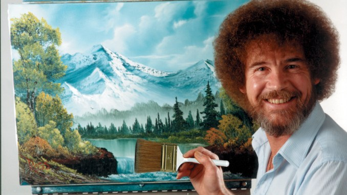 Bob Ross bij Museum More