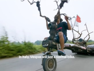 Vespa styling in extrema