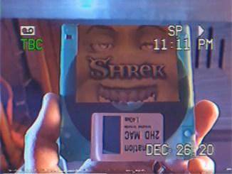 Shrek op diskette