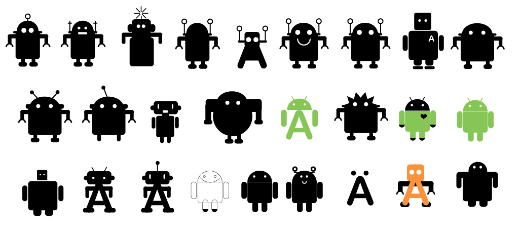 The Story Of The Android Logo