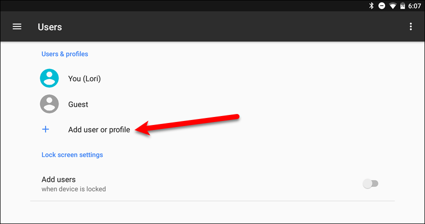 How To Add a New User Account To Your Android Device