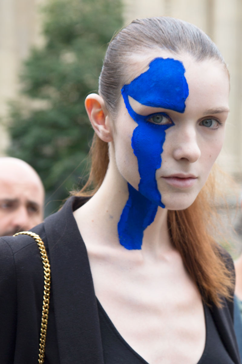 Maison Margiela Face print Smashing Haute couture Street Style mode trends