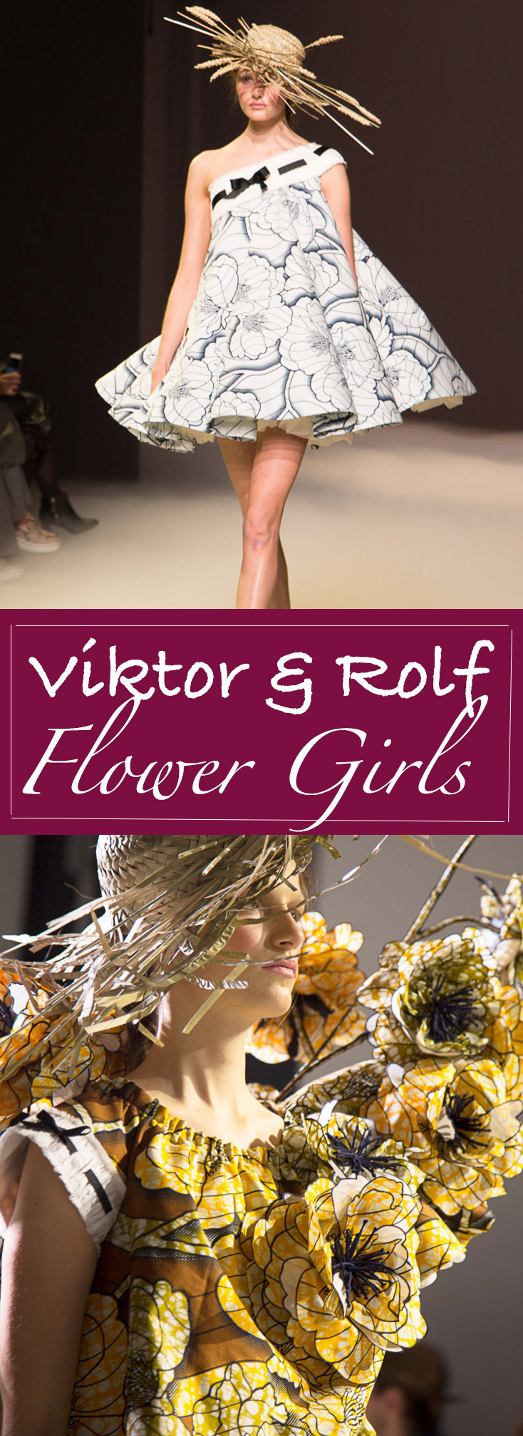 Viktor & Rolf Van gogh flower girls