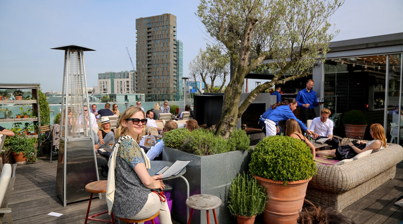 rooftop bar Boundary London 14 Trendy Tips & Leuke plekken Londen | trendbubbles.nl