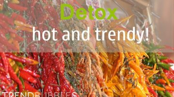 Detox is hot en trendy | Trendbubbles.nl