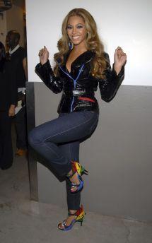 Beyonce High Heel Shoes