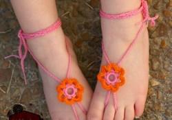 Barefoot Sandals Crochet Pattern 31 Free Crochet Barefoot Sandal Patterns Guide Patterns