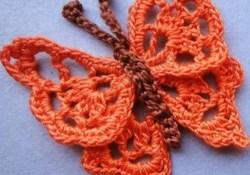 Butterfly Crochet Pattern Crochet Pattern Pdf Crochet Pattern Butterfly Crochet Tutorial Etsy
