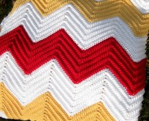 Chevron Baby Blanket Crochet Pattern All Things Bright And Beautiful Chevron Blanket