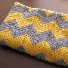 Chevron Baby Blanket Crochet Pattern Crochet Chevron Ba Blanket Pattern Fromy Love Design Warmth