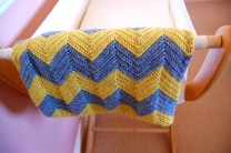 Chevron Baby Blanket Crochet Pattern Diy Crochet Chevron Ba Blanket Yellow Dandy