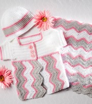 Chevron Baby Blanket Crochet Pattern How To Crochet A Chevron Ba Blanket Cap Cardigan Joann