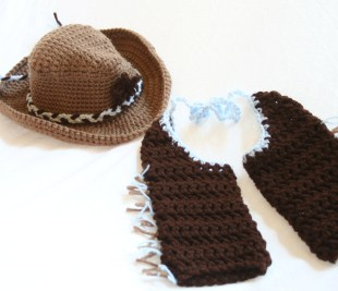 Crochet Baby Cowboy Hat And Boots Pattern Free Ba Cowboy Crochet Pattern Ba Cowboy Hat