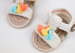 Crochet Baby Sandals Pattern Crochet Ba Boho Sandals Cro Patterns