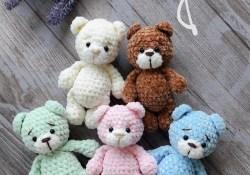 Crochet Bear Pattern Little Bear Amigurumi Pattern Amiguroom Toys