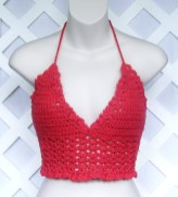 Crochet Bikini Top Pattern Inspirational Free Crocheted Halter Top Pattern Easy Crochet