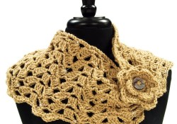 Crochet Cowl Patterns Crocheted Cowl Pattern