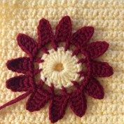 Crochet Flower Patterns Free Flat Crochet Flowersfreefree Patterns Rahooqa