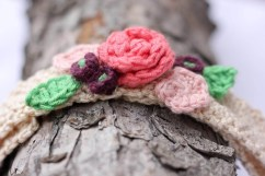 Crochet Flower Patterns Free Free Crochet Flower Headband Pattern Ba Toddler Adult