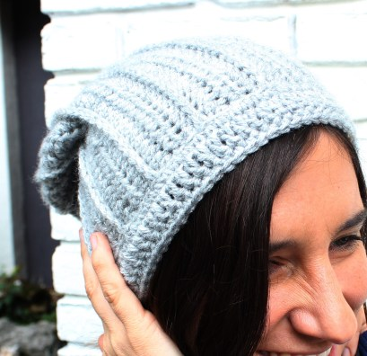 Crochet Slouchy Hat Pattern Free Crochet Slouchy Hat Pattern Knit Look Crochet Hat