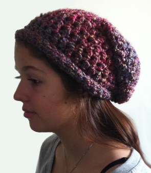 Crochet Slouchy Hat Pattern The Teens Crochet Slouchy Hat Dearest Debi Patterns