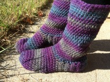 Crochet Sneaker Pattern How To Make Basic Crocheted Slipper Boots Updated Free Pattern In