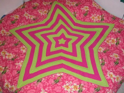 Crochet Star Afghan Pattern Ever Heard Of A Starghan Once You See This Youll Want To Crochet