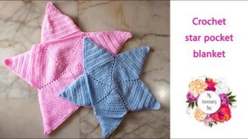 Crochet Star Afghan Pattern Free Crochet Pattern Star Shaped Pocket Ba Blanket Youtube