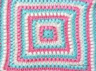 Easy Crochet Afghan Patterns Bobbles And Stripes Granny Square Blanket Free Easy Crochet Pattern