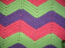 Easy Crochet Afghan Patterns Zig Zag Afghan How To Stitch A Knit Or Crochet Blanket Crochet