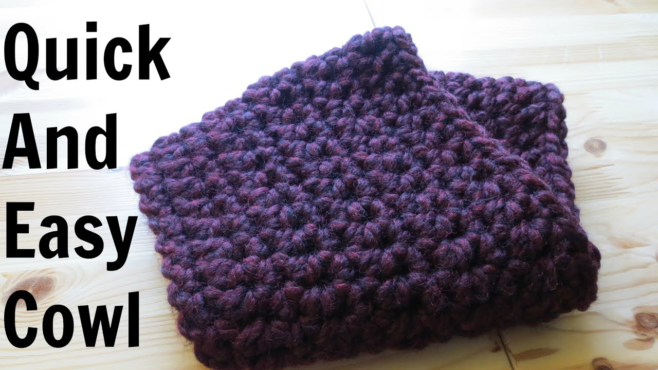 32 Exclusive Picture Of Easy Crochet Cowl Pattern Trendcrochetscom