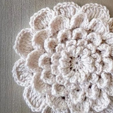 Easy Crochet Flower Pattern 25 Crochet Flower Patterns Dabbles Babbles